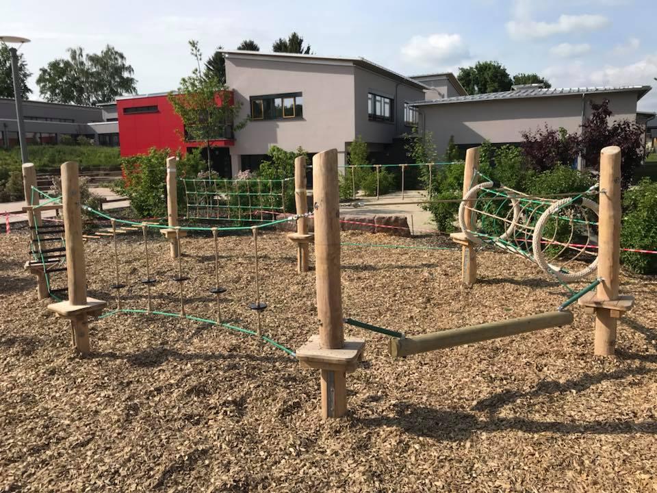 Klettergerüst Schule : Elias holl grundschule augsburg archive aufbau klettergerüst